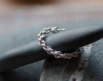 Chain Ring, Eternity Ring, Infinity Ring