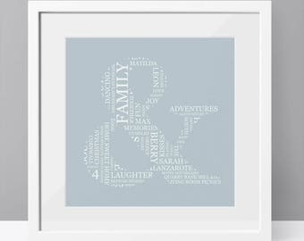 Personalised Ampersand Word Art