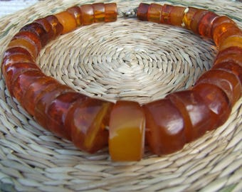 Amber beads. baltic amber. antique amber beads necklace natural amber. amber jewelry. beads. amber necklace. natural baltic amber.  amber