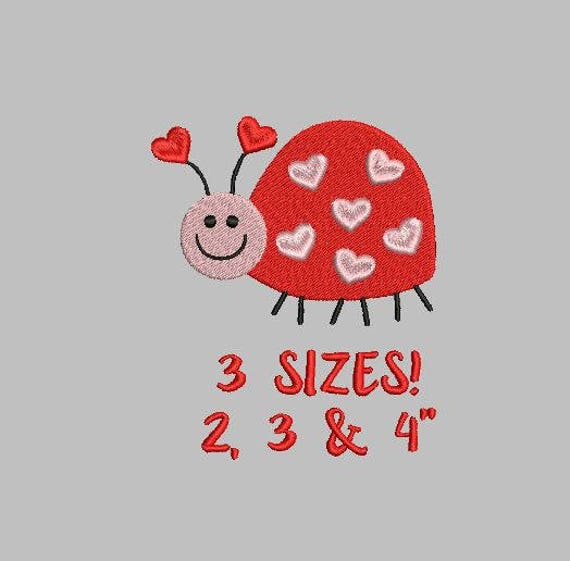 Bogo Free Ladybug Embroidery Design Love Bug Embroidery