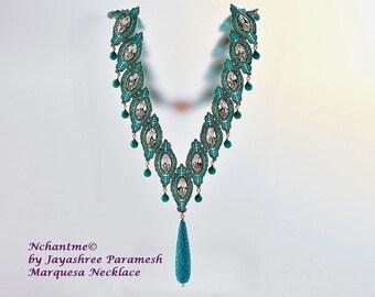 Marquesa Necklace Tutorial Instant Download