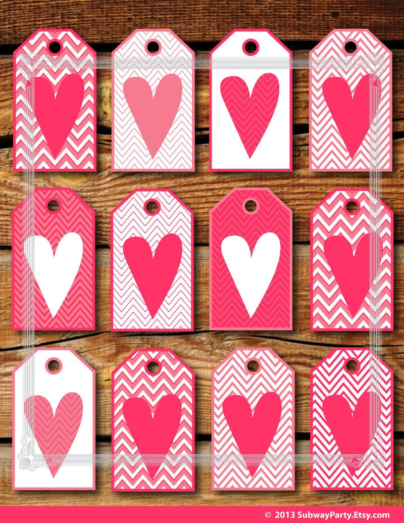 It's just an image of Zany Valentines Day Gift Tags