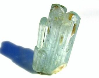 Natural Aquamarine Crystal Point Cluster - 54.5ct - Natural Raw Beryl Crystal Mineral Specimen