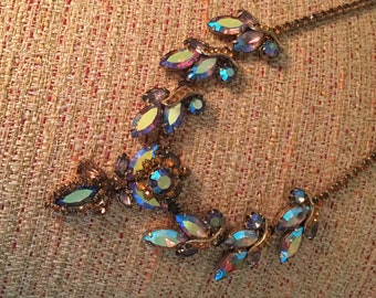 Vintage 1960's Statement Necklace and Earring Set