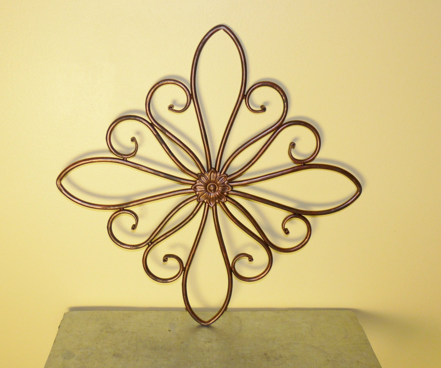 Amazing Metal Scroll Wall Art Pictures Inspiration - The Wall Art ...