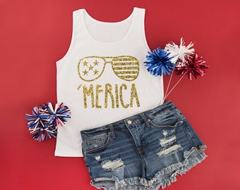 Fourth of July Tank 4th of July Shirt 4th of July Tank Top Fourth of July Shirt Independence Day Shirt Patriotic Shirt Girls
