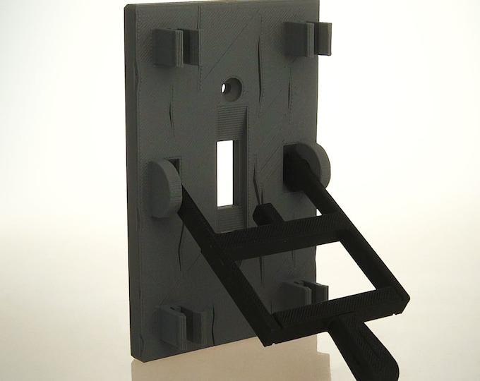 Mad Scientist Frankenstein Light Switchplate Cover