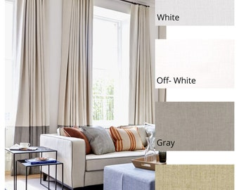 Solid and Stripe Drapes