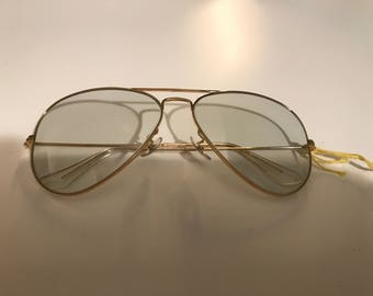 New vintage Ray-ban B&L Aviator LG Metal Gray photo chromatic changeable lenses