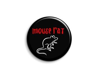 Maus Ratte Abzeichen - Parks und Rec-Abzeichen - Parks und Erholung-Button oder Magnet