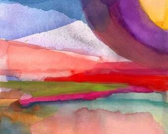 Art Print, Dreaming Deep