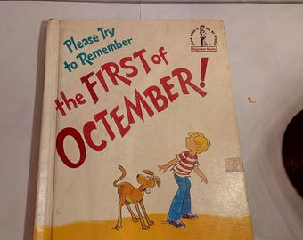 Please Try to Remember the First of Octember  by Theo LeSieg ,1977