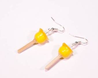 Lemon love Apple earrings