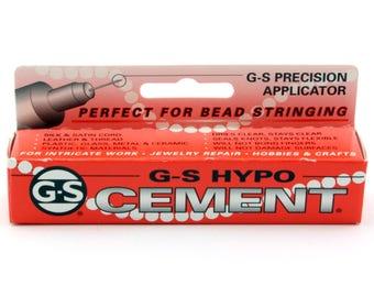 G-S Hypo Cement 1/3 fl. oz. (9ml) tube