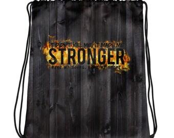 STRONGER Drawstring bag