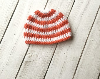 Newborn hat/ baby beanie/ striped hat/ newborn beanie/ baby hats/ baby accessories