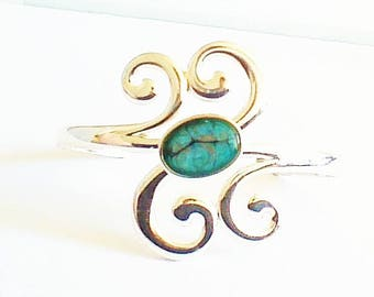 Bangle is modern, bouquet of spirals, light collection,