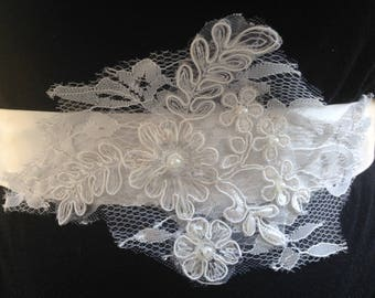 Lace Bridal Sash, Belt for Brides