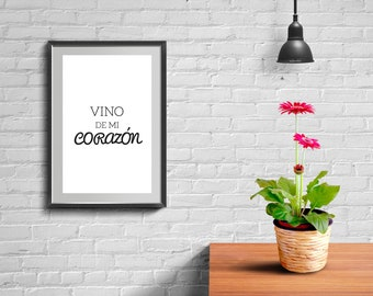 Wine- Art Printable