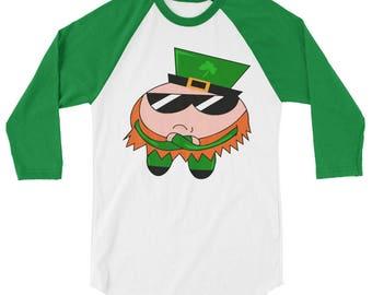 I'm Irish Shirt - Cool Leprechaun - St. Patricks Day Shirt - Baseball Tee