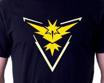 Pokemon Team Instinct Shirt