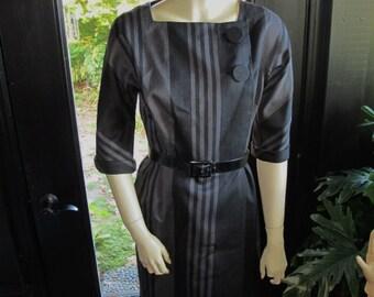 1960s Designer Dress Jackie O Dress Bud Kilpatrick Dress 1960s Couture Dress I Magnin