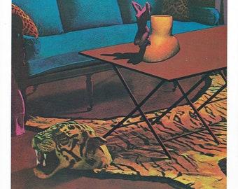 UNIQUE: Ken Price, Figurine Cup II, Color Lithograph, 1970