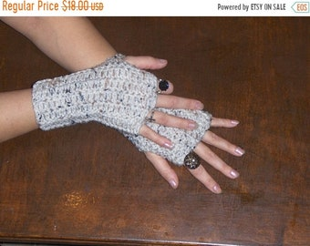Crochet Fingerless Gloves The Birch Bark Gloves Arm Warmers BOHo Texting Gloves Hand Wrists warmers Fall Fashion Urban Chic gypsy Victorian