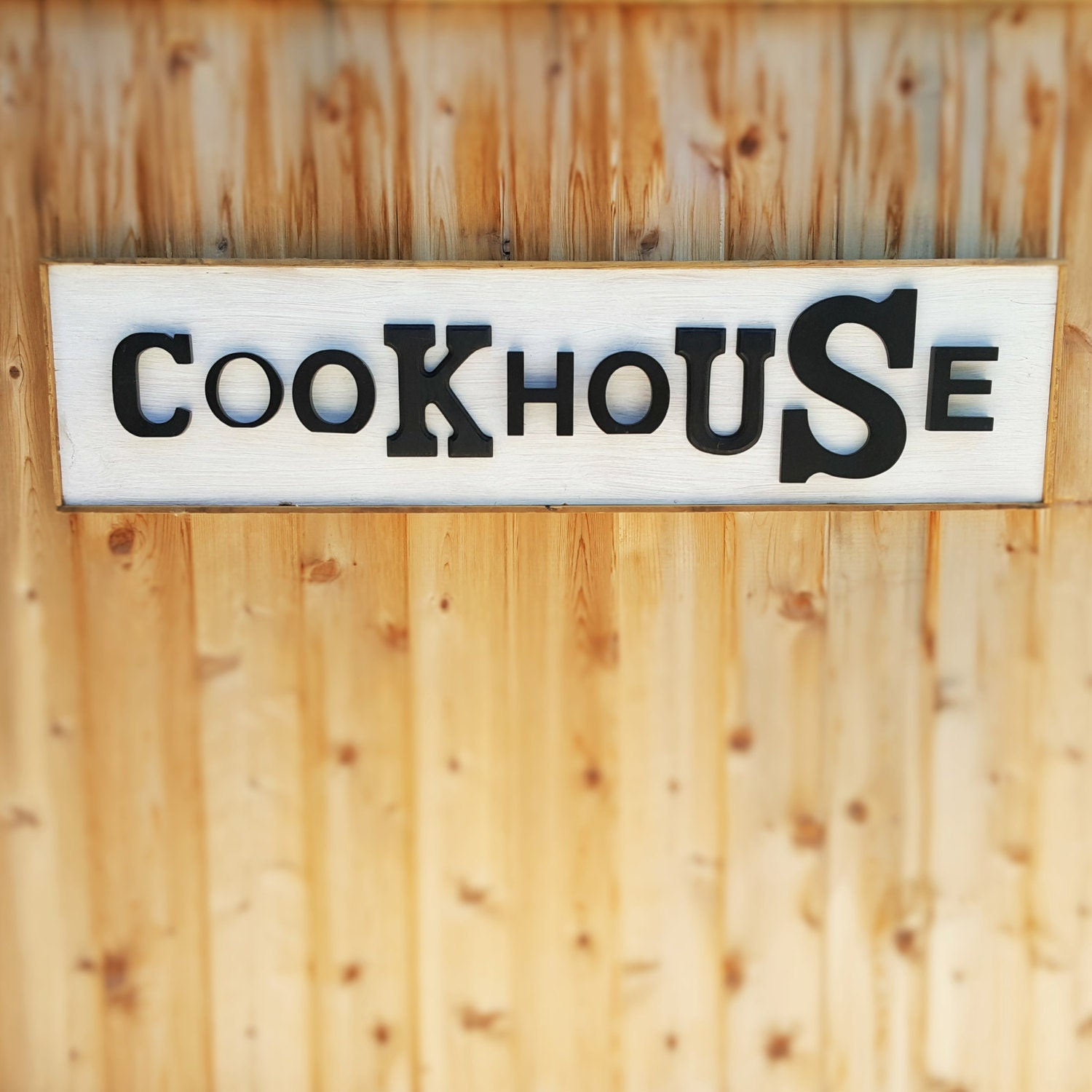 Rustic Sign   Wall Art Home Decor   COOKHOUSE Sign   Retro Kitchen ...