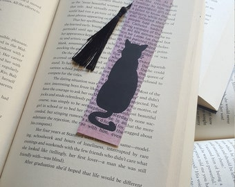 Beautiful Handmade Cat Bookmark