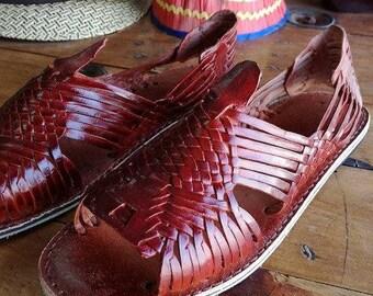Huaraches for women, Mexican Huaraches, Mexican sandal, Handmade, Piel. Traditional Mexican Huarache. Made in Mexico.