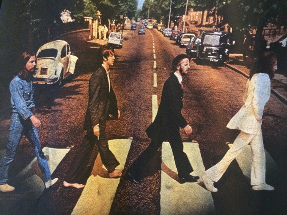 Adult Slender Medium Abbey Road Beatles T Shirt Music 1950s Music 1960s Music by Etsy