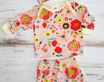 Fall baby girl coming home outfit - baby girl clothes for fall - baby girl outfit for fall - baby shower gift - newborn girl clothes