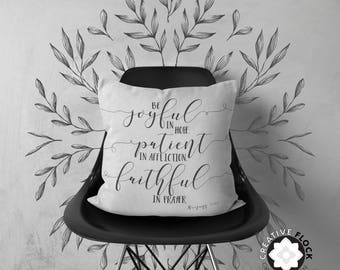 Romans 12, 18 x 18 Pillow Cover, Pillowcase Only