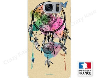 Soft case for Samsung Galaxy pattern catches dreams and Butterfly