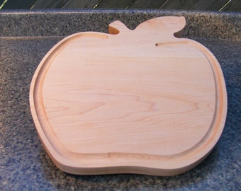 The Big Apple Cutting Board / Serving Board - Maple