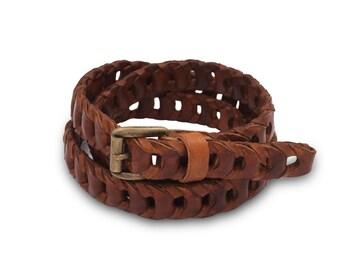 Braided Belts Tondino Piccolo line Spring