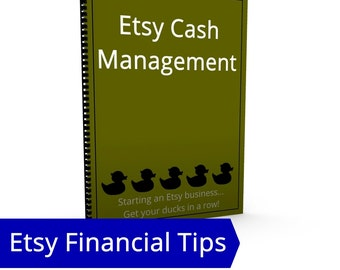 Cash Mangement - Bank Account, PayPal Account, Etsy Business Liquidity, ROI, Return on Investment, Forecasting, Investing in Your Business