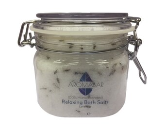 Relaxing Lavender Bath Salts 550g