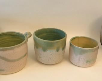 Matching Set of Green Vessels