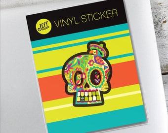 Calavera Vinyl Sticker