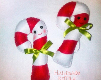 candy canes sweet candy canes lollipop christmas decoration christmas time ornament christmas tree
