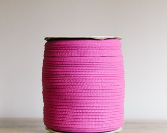 "12mm, 1/2"" Cotton twill tape / Cotton herringbone tape / available in over 200 beautiful colours  / cotton drawcord / sewing supplies"