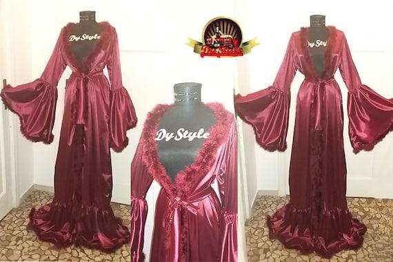 14 inspirational robe de chambre satin 100 images quilted bathrobe etsy kimono robe etsy. Black Bedroom Furniture Sets. Home Design Ideas