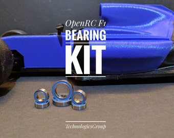 OpenRC F1 Bearing Kit | RC Components | 3D Printed | RC Car
