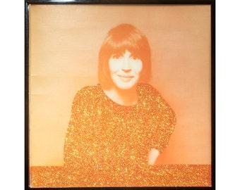 Glittered Vintage Helen Reddy Album (back)