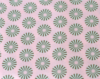 Tula Pink Hushabye Stripe Dots in Pink Blue OOP VVHTF, Moda_FQ