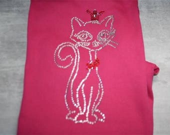 t-shirt cat pattern
