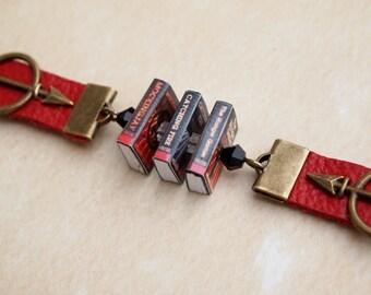 Custom Mini Book Bracelet 1-6 Books