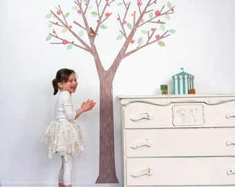 Tree Wall Decal - Cherry Blossom Tree Wall Decal